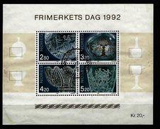 NORWEGEN Mi-Nr. Block 18 Tag Der Briefmarke Gestempelt (2)