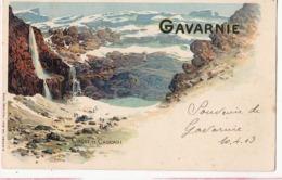 Dep  65 - Gavarnie - Cirque Et Cascade - Carte Précurseur  -  Carte à 0.90 Euro - Gavarnie