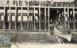 62 BOULOGNE Sur MER Sortie Du Bateau De Sauvetage. Animée - Boulogne Sur Mer