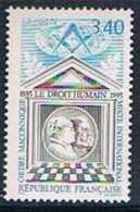 France 1993 Yt N°2796 MNH ** Ordre Maconnique - France
