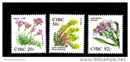 IRELAND/EIRE - 2008  FLOWERS  SET MINT NH - 1949-... Repubblica D'Irlanda
