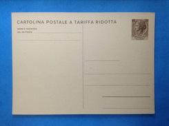1971 ITALIA CARTOLINA POSTALE A TARIFFA RIDOTTA NUOVA NEW MNH** - SIRACUSANA TURRITA DA 20 LIRE - - 6. 1946-.. Republic