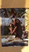 MOOREA DANSEUSE D'APARIMA A L'HOTEL AIMEO - Carte Postale Neuve Années 70 - Très Bon état - Dos Partagé - Polynésie Française