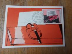 FRANCE (1965) DUFY Le Violon Rouge - Maximum Cards