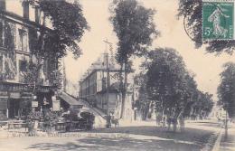 Cpa-92-saint Cloud-animée-11 Avenue Du Palais-edi H.F. - Saint Cloud
