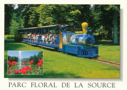 ORLEANS (45, Loiret) : Parc Floral De La Source, Le Petit Train, Le Château (non Circulée, Neuve) - Orleans