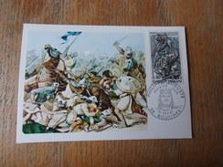 FRANCE (1967) PHILIPPE AUGUSTE Bataille De Bouvines - Maximum Cards