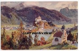 Kufstein Von Hohen Staffing, Alte Künstler Ak Ansichtskarte 1908