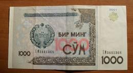 2001 - Ouzbekistan - Uzbekistan - 1000 SUM, EM 3441368 - Usbekistan