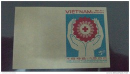 Vietnam Viet Nam MNH Imperf Stamp 1986 : 40th Anniversary Of Vietnamese Red Cross (Ms501) - Vietnam