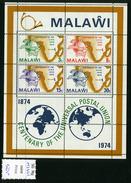 1974 - MALAWI.-  Catg.. Mi. Block 36  -  NH - (UP554641.85) - Malawi (1964-...)