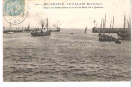 BELLE ISLE   QUIBERON     LE PALAIS - Fähren