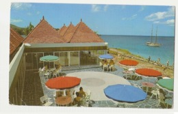 MARTINIQUE - BA-KOUA - HOTEL TERRACE AND RESTAURANT - STAMPS - 1960s ( 610 ) - Postcards