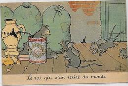 CPA Benjamin RABIER Publicité Publicitaire  Chocolat LOMBART Souris Mouse Non Circulé - Rabier, B.