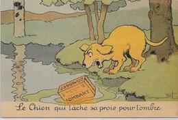 CPA Benjamin RABIER Publicité Publicitaire  Chocolat LOMBART  Non Circulé Chien Dog - Rabier, B.