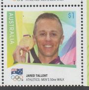 AUSTRALIA, 2016,  MNH, JARED TALLENT, GOLD MEDAL, 2012 OLYMPICS, 1v