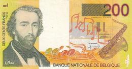 BELGIUM 200 Francs ND 1995 FV P-148 - Otros