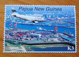 Papua New Guinea - Aviation (1997) STAMP FROM BL. 13  MNH - Avions