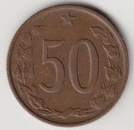 @Y@   Tsjechoslowakije   50 Haleru  1963   (4615) - Tsjechoslowakije
