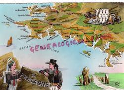 29 - LA BRETAGNE - QUIMPER-LANDEVENEC- CAMARET-LORIENT-FOUESNANT-PLEBEN-LE GUILVINEC-LE POULDU-CARNAC-BAUD-PLOUEY - France