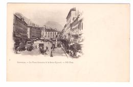 GRENOBLE - La Place Grenette & Le Saint Eynard - Grenoble