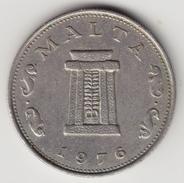 @Y@      Malta 5 Cents   1976   (4619) - Malta