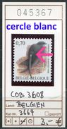 Buzin - Belgien - Belgique - Belgium - Belgie - Michel 3664 / COB 3608  - ** Mnh Neuf Postfris - Cercle Blanc - Abarten Und Kuriositäten
