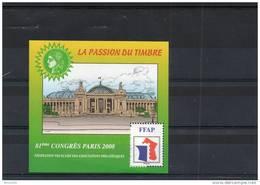 BLOC C.N.E.P FEDERATION N° 2- PASSION DU TIMBRE   : Cote 12 € - FFAP