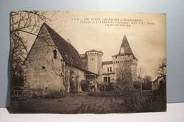 JAVERLHAC     ---  Chateau  De  - Façade  Sur Le Jardin - France