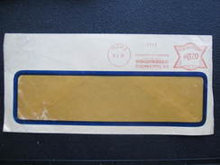 BRIEF Praha 1  Mezinarodni Dopravy 1933 Frankotype Freistempel Postfreistempel  /// O5050