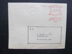 BRIEF Praha 1 Merkur 1933 Frankotype Freistempel Postfreistempel  /// O5053