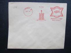 BRIEF Praha 2 Male Namesti 1931 Frankotype Freistempel Postfreistempel  /// O5054