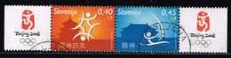 Slowenien 2008, Michel# 679 - 680 O XXIX Summer Olympic Games Peking 2008 - Slowenien