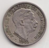 @Y@       Luxemburg   10 Centimos  1901    (4625) - Luxemburg