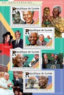Guinea. 2015 Nelson Mandela. (225b) - Premio Nobel