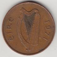 @Y@     Ierland   2 Penny  1971     (4629) - Ierland