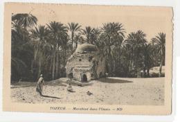 TUNISIA - TOZEUR - MARABOUT DANS L'OASIS - EDIT LEVY & NEURDEIN 1928 STAMP (625) - Tunisia