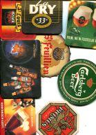 LOT DE  30 SOUS BOCKS  -tous Différents- - Beer Mats
