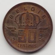 @Y@     België  50 Centimes  1975     (4631) - 1951-1993: Boudewijn I