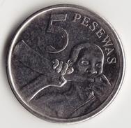 @Y@     Ghana  5 Pesewas   2007     (4632) - Ghana
