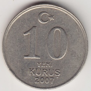 @Y@     Turkije  10 Yeni Kurus   2007     (4633) - Turkije