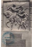 701 - AMIENS - Bas- Relief De De Saint-Martin Au Palais De Justice (MILITARIA - BEAU CACHET 5ème Régiment Du Génie) - Amiens