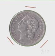 CINQ FRANCS LAVRILLIER/ 1938 / NICKEL - J. 5 Francs