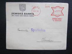 BRIEF Praha 1 Zemska Banka 10.8.1939 !! Frankotype Freistempel Postfreistempel  /// O5094 - Böhmen Und Mähren