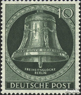 Berlin (West) 102 Postfrisch 1953 Freiheitsglocke - Nuevos
