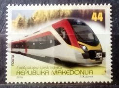 Macedonia 2016 New Train From China MNH - Mazedonien