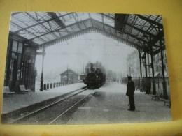 TRAIN 7442 - IMAGES D'AUTREFOIS... LE VIEUX NANTES LA GARE D'ORLEANS - TRAIN - Trains