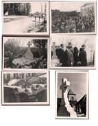 LOT SERIE DE 6 PHOTOS DE L'ENTERREMENT DE GENERAL DE GAULLE A COLOMBEY LES 2 EGLISES 12 NOV 1970 - Guerre, Militaire
