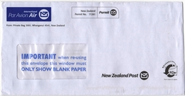 Letter From New Zealand To Russia 2017 - New Zealand