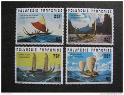 Polynésie: Série N° 111 Au N° 114 ,neufs XX . GT. Cote = 23.80 Euros. - Neufs